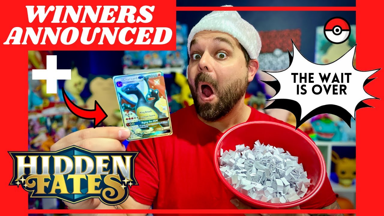 Download We Finally Pulled the SHINY CHARIZARD From Hidden Fates PLUS Giveaway Winners Announced !!!