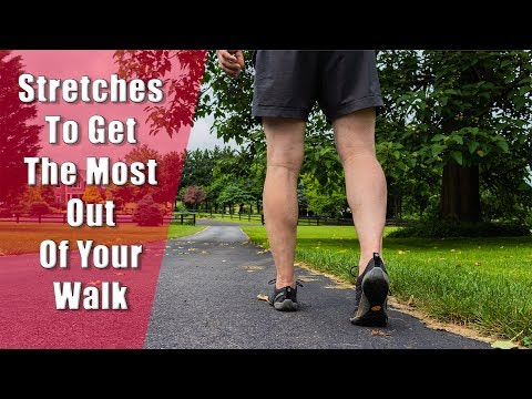 What Stretches to Do Before Walking 5 Stretch Routine