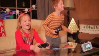SURPRISE! The kids get their first VIDEO GAME!