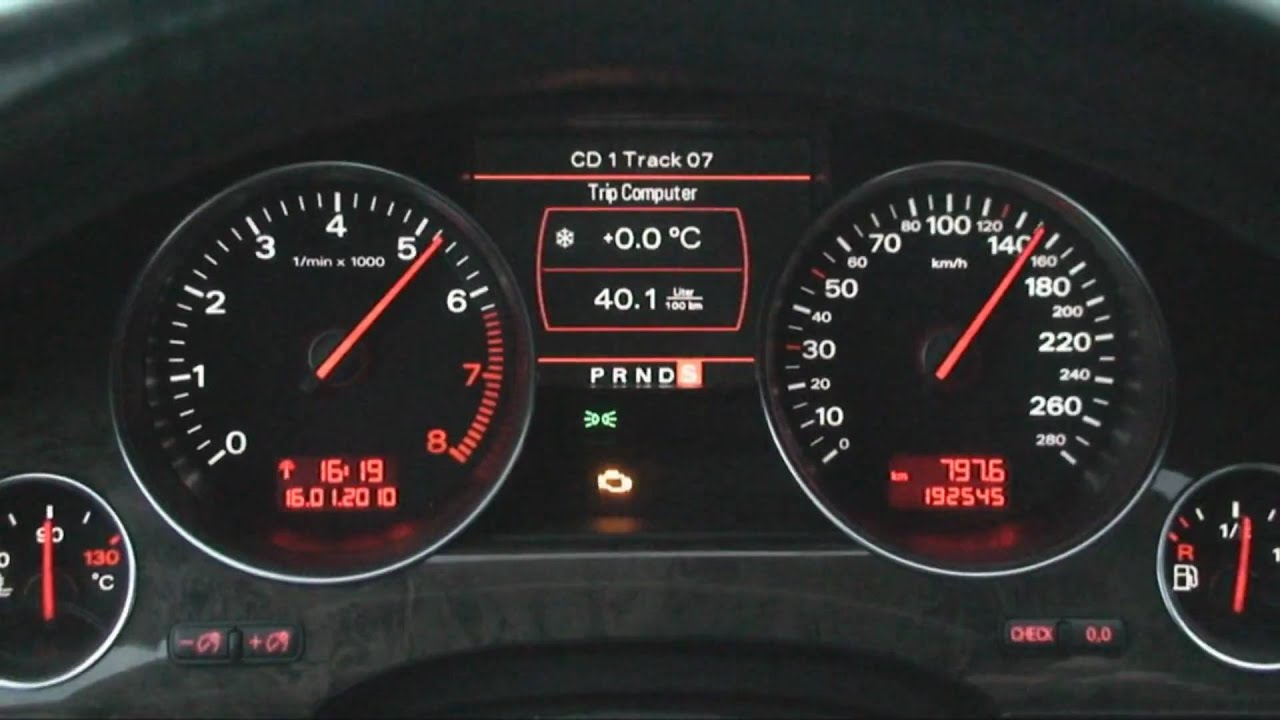 Audi A8 W12 6 0 Acceleration Youtube