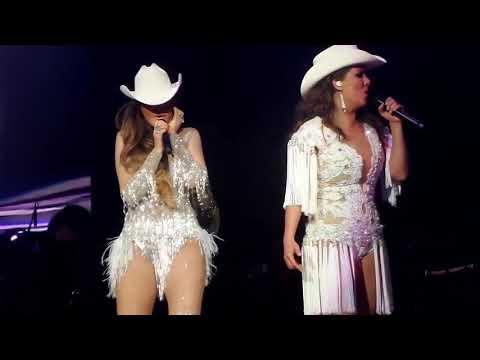 Ana Bárbara & Edith Márquez 'Basta Ya' Par de Reinas Arena CDMX 2017