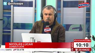 Nicolás Lúcar pide Indulto de Benedicto Jiménez