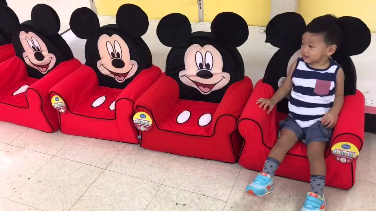 Toys R Us Mickey Mouse Chairs!