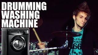 Drumming Washing Machine // Morris Drum Cover (1080p)