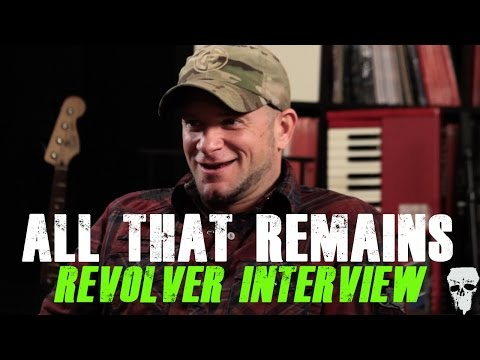 All That Remains - Revolver Interview with Phil Labonte