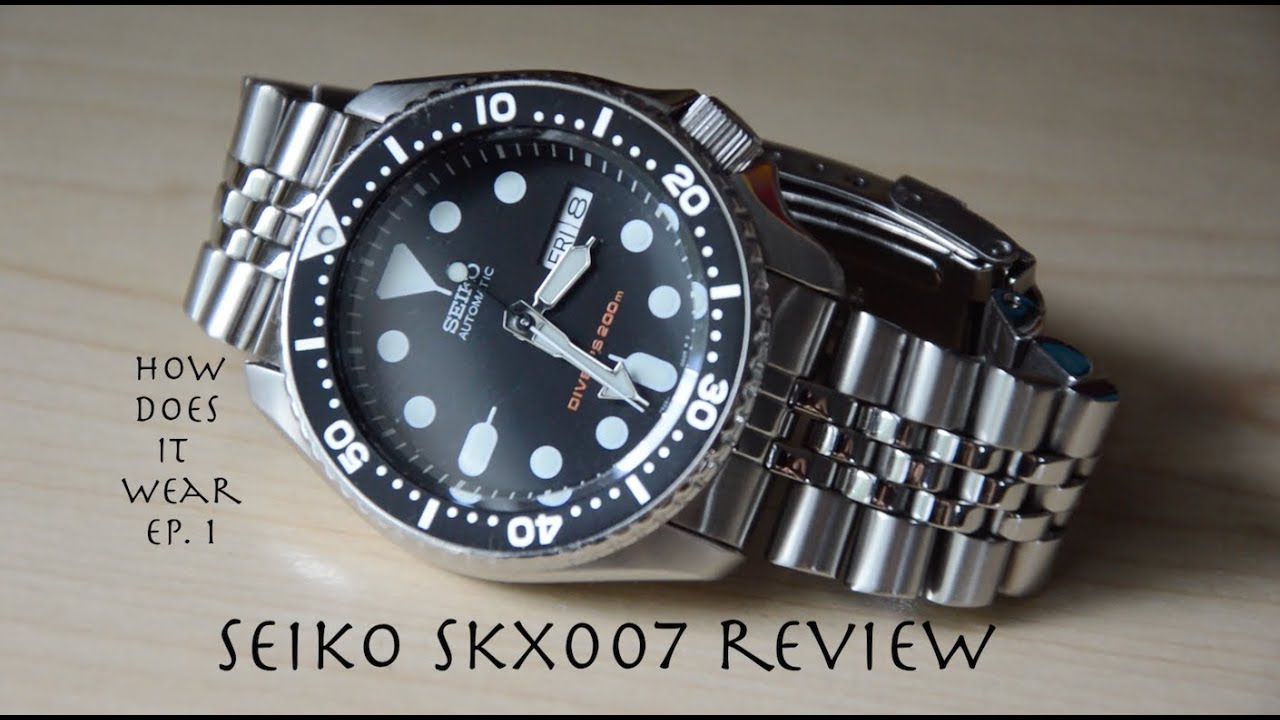 seiko skx007 review best watch under 200 youtube On seiko skx007