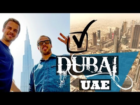 DUBAI, UAE | Travel Vlog | Burj Khalifa and Giant Malls!