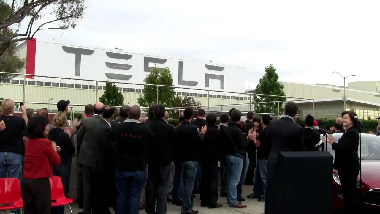 Tesla Opens Factory — Home of Model S