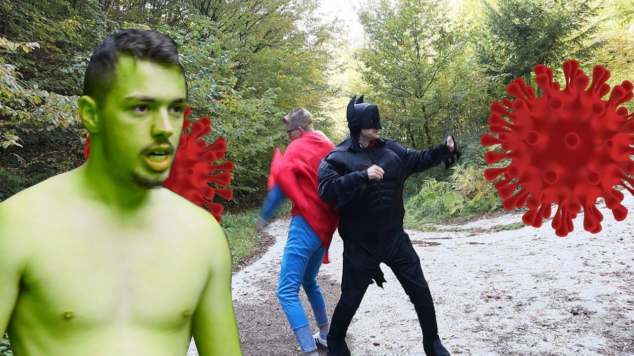 Superheroes VS Corona