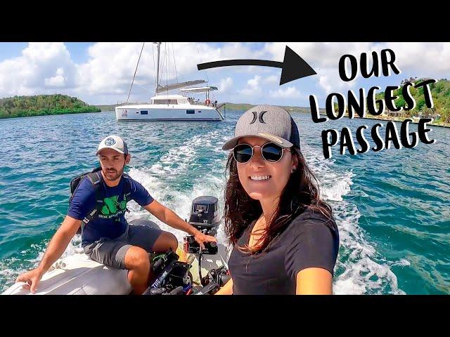 SAILING CATAMARAN TO GRENADA | Longest Sailboat Passage