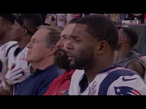 Super Bowl 2017 National Anthem Luke Bryan