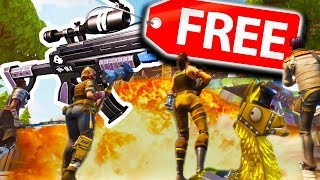 FREE BATTLE ROYALE GAME - NEW FORTNITE SNIPER MADNESS!
