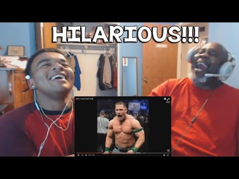 Dad Reacts to John Cena Prank Call (HILARIOUS REACTION)