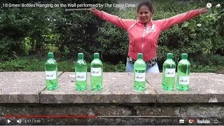 10 Green Bottles Hanging on the Wall performed by The Crazy Crew