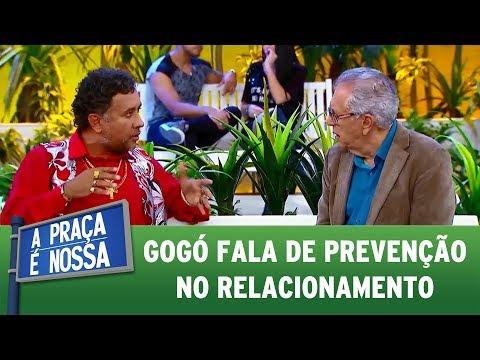 Gogó fala de prevenção no relacionamento   A Praça É Nossa (20/07/17)