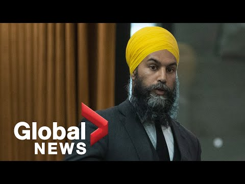 Jagmeet Singh ordered to leave House of Commons for calling Bloc MP 'racist'