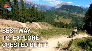 HOW TO EXPLORE CRESTED BUTTE BY MOUNTAIN BIKE | COLORADO'S MOUNTAIN BIKING | ADVENTURE HYDROLOGY