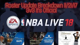 Nba Live 18/ Ea Has Done The Nba Live Community Proud Plus Roster Update 11/21/2017 My Outlook