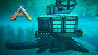 Ark Mosasaurus Platform Base  Valguero Submarine (Speed Build)