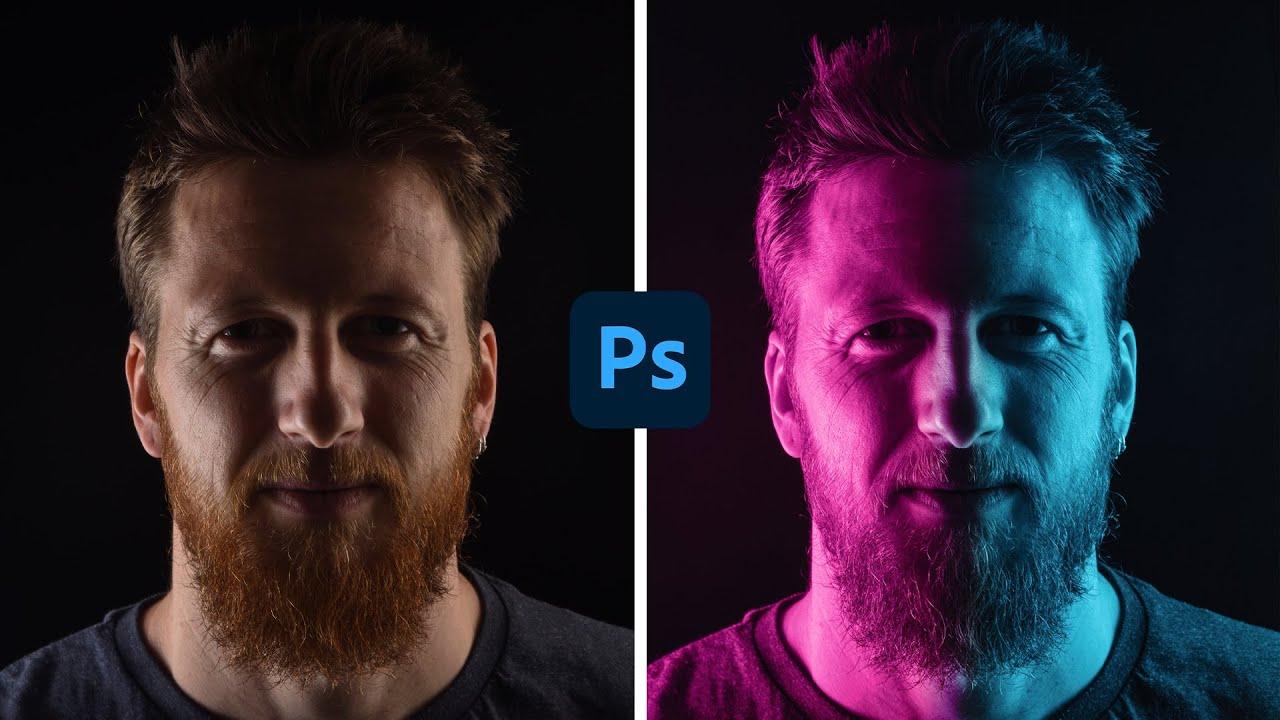 Come Creare un Effetto Doppia Luce in modo Facile e Veloce in Photoshop