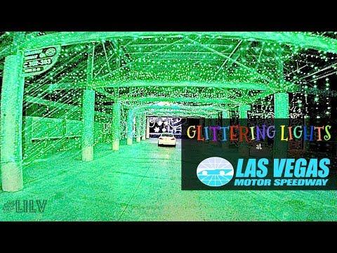Christmas in Vegas! Pt 1 - Glittering Lights @ Vegas Motor Speedway!