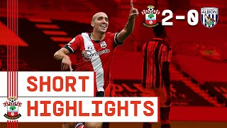 90-SECOND HIGHLIGHTS: Southampton 2-0 West Bromwich Albion | Premier League