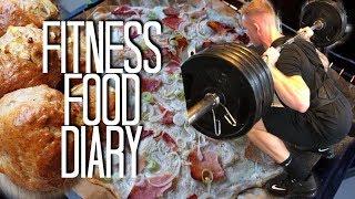 Fitness Food Diary & stärkstes Training - Schmale Schulter