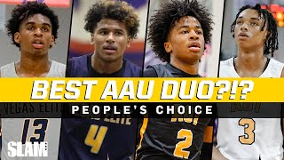 Who's the Best AAU Duo? 🤔 Jalen Green, Josh Christopher, Sharife Cooper, & More!