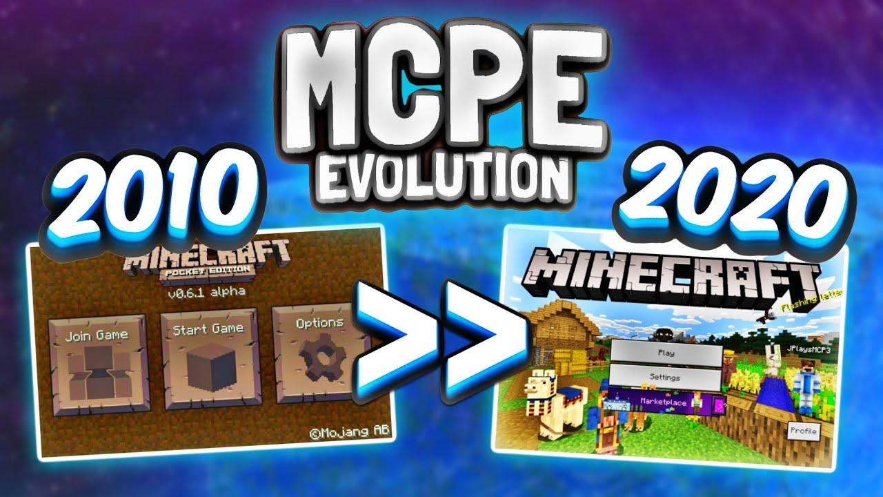 Evolution of MINECRAFT 1222-1222! - MCPE History (1222.122 to 122.1223) - Minecraft  Bedrock Edition Evolution