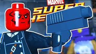 Lego Marvel Super Heroes | THE RED SKULL & HUMAN TORCH! | Lego Marvel Super Heroes Gameplay Part 5