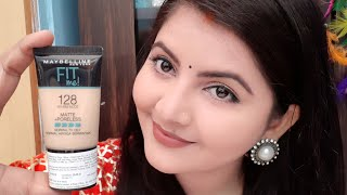 Maybelline fit me foundation mini pack review & demo   foundation for oily skin for summers   RARA