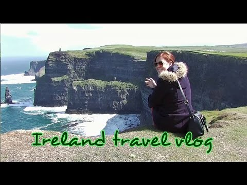Ireland Vlog || Cliffs of Moher, Doolin Cave, The Burren and Stone Circle