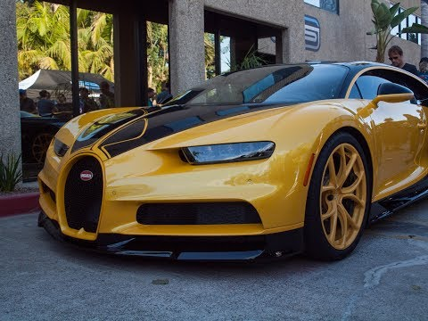 BUGATTI CHIRON HELLBEE: 1ST NORTH AMERICAN CUSTOMER CHIRON | Protective Film Solutions Open House