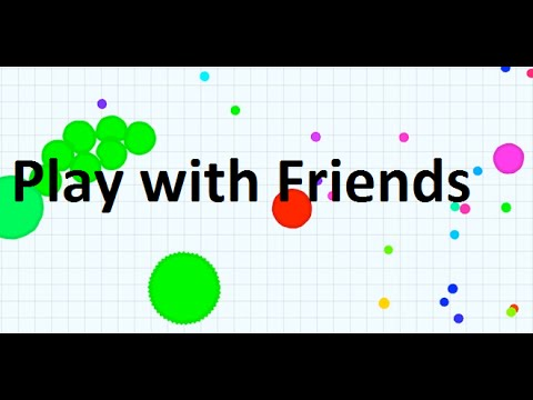 Download How to play with your friends on Agar.io
