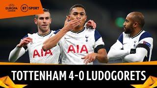 Tottenham v Ludogorets (4-0) | Europa League Highlights