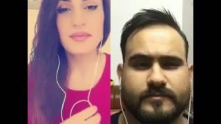 نونيتا مع محمد اكرم وتحدي الله الله يا جمالك الاغنيه جوها حلو وكلش حلوه (تابع الوصف)