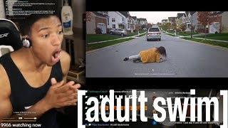 "Etika Reacts To ""Unedited Footage Of A Bear"" (Adult Swim) [Etika Swim Highlight]"