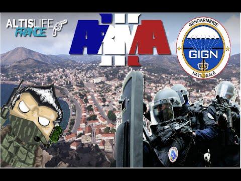 Altis life Serveur AltisLife France Police #11 Escouade GIGN ! !