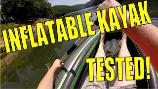 review intex challenger k2 inflatable kayak part 2