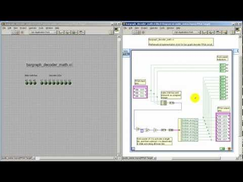 LabVIEW FPGA: Bar graph decoder -- math