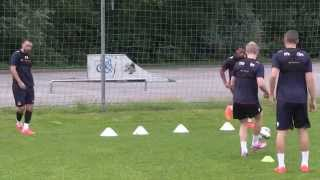A Day Pre-Season Training With Crystal Palace In Austria
