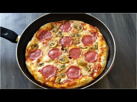 how-to-make-pizza-at-home-without-oven/-homemade-pizza-in-the-pan