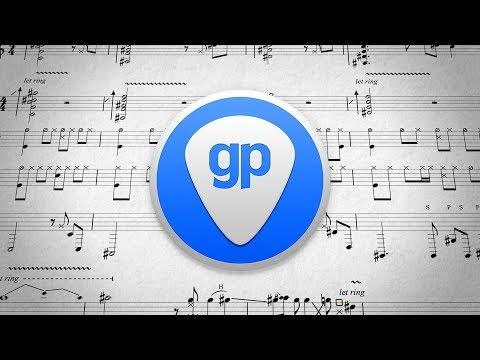 Making A Beat Using GUITAR PRO!