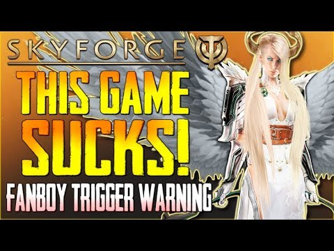 "Skyforge Sucks (2018) - ""Fanboy Trigger Warning""...Worst MMO on PS4!!! - #TRIGGERED"