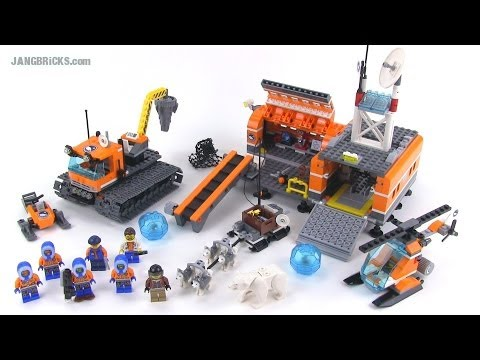 LEGO City 60036 Arctic Base Camp reviewed! Summer 2014