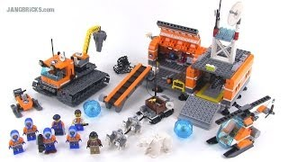 LEGO City 60036 Arctic Base Camp reviewed! Summer 2014 thumbnail