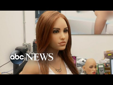 You can soon buy a sex robot equipped with artificial intelligence for about $20,000