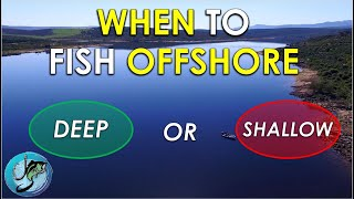 When to Fish Offshore After Bass Spawn | Summer Bass Fishing