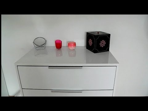 mon rangement makeup update mon meuble rangement maquillage organisation youtube. Black Bedroom Furniture Sets. Home Design Ideas