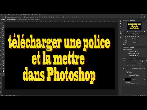 telecharger police photoshop cc 2017